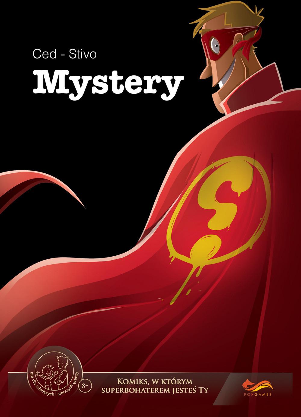 praca zbiorowa Komiksy paragrafowe Mystery
