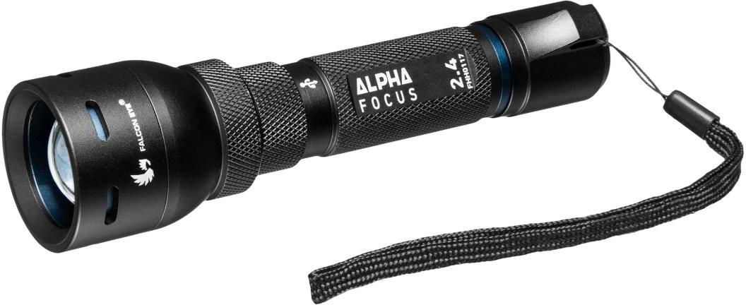 MacTronic Ładowalna latarka ręczna z portem MicroUSB Alpha 2.4 FHH0116