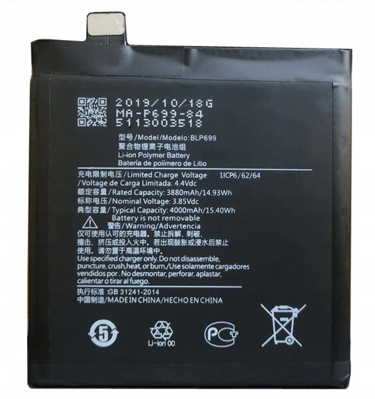 Nowa Oryginalna Bateria Oneplus 7 Pro BLP699 Fvat