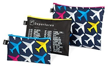 LOQI Zip Pockets Airport Airplane ZP.AI