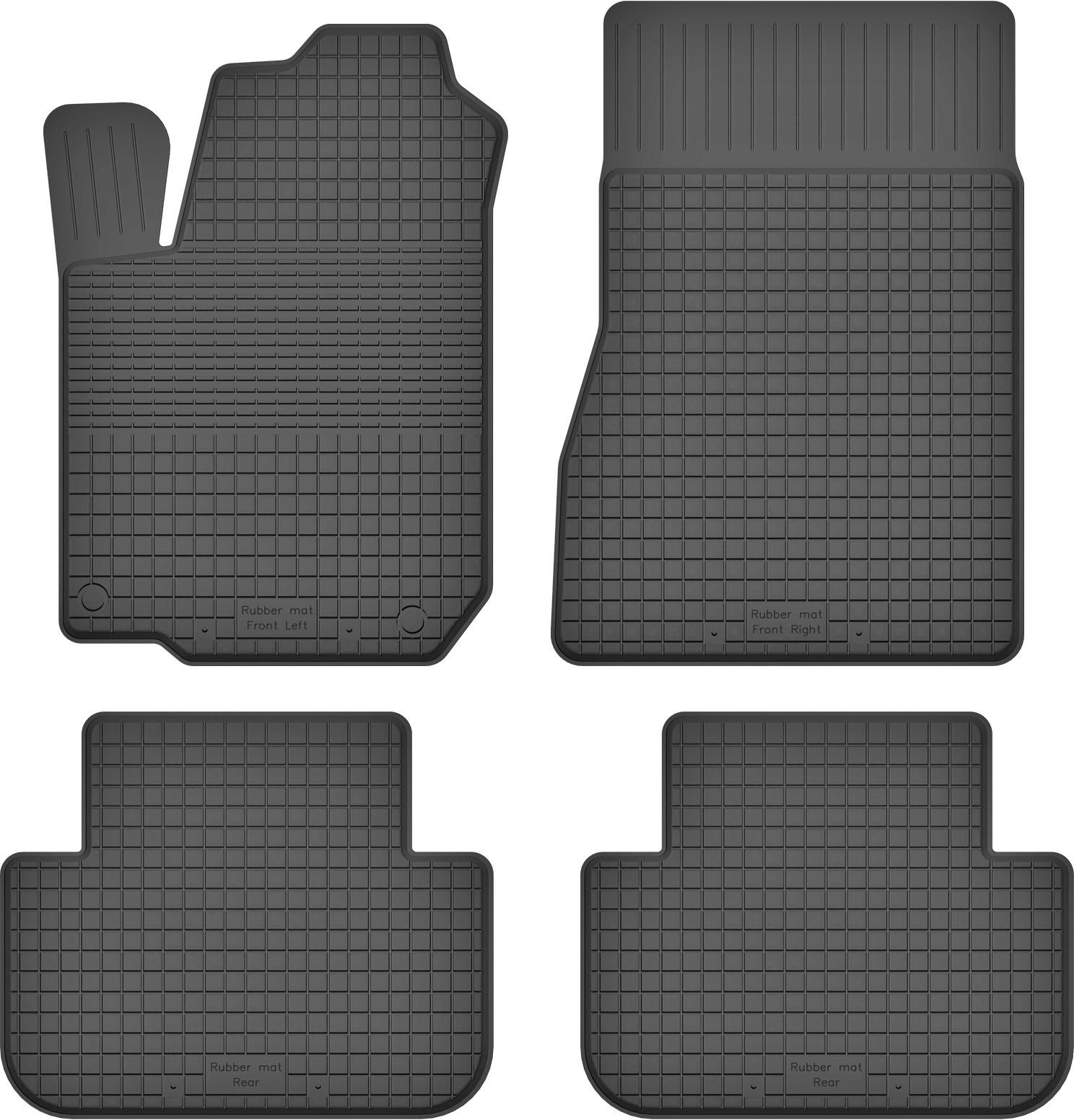 MotoHobby Renault Laguna II (2001-2007) -dywaniki gumowe korytkowe