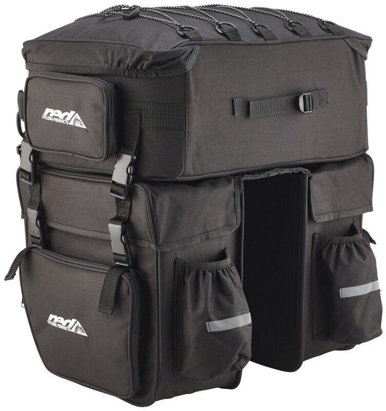 Red cycling products Red Cycling Products Grand Touring Bag Torba na bagażnik, black 2020 Torby na bagażnik SET550-XXL