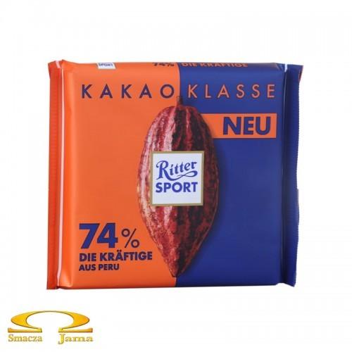 Ritter Sport Czekolada 74% kakao z Peru 100g 0AD6-2936D