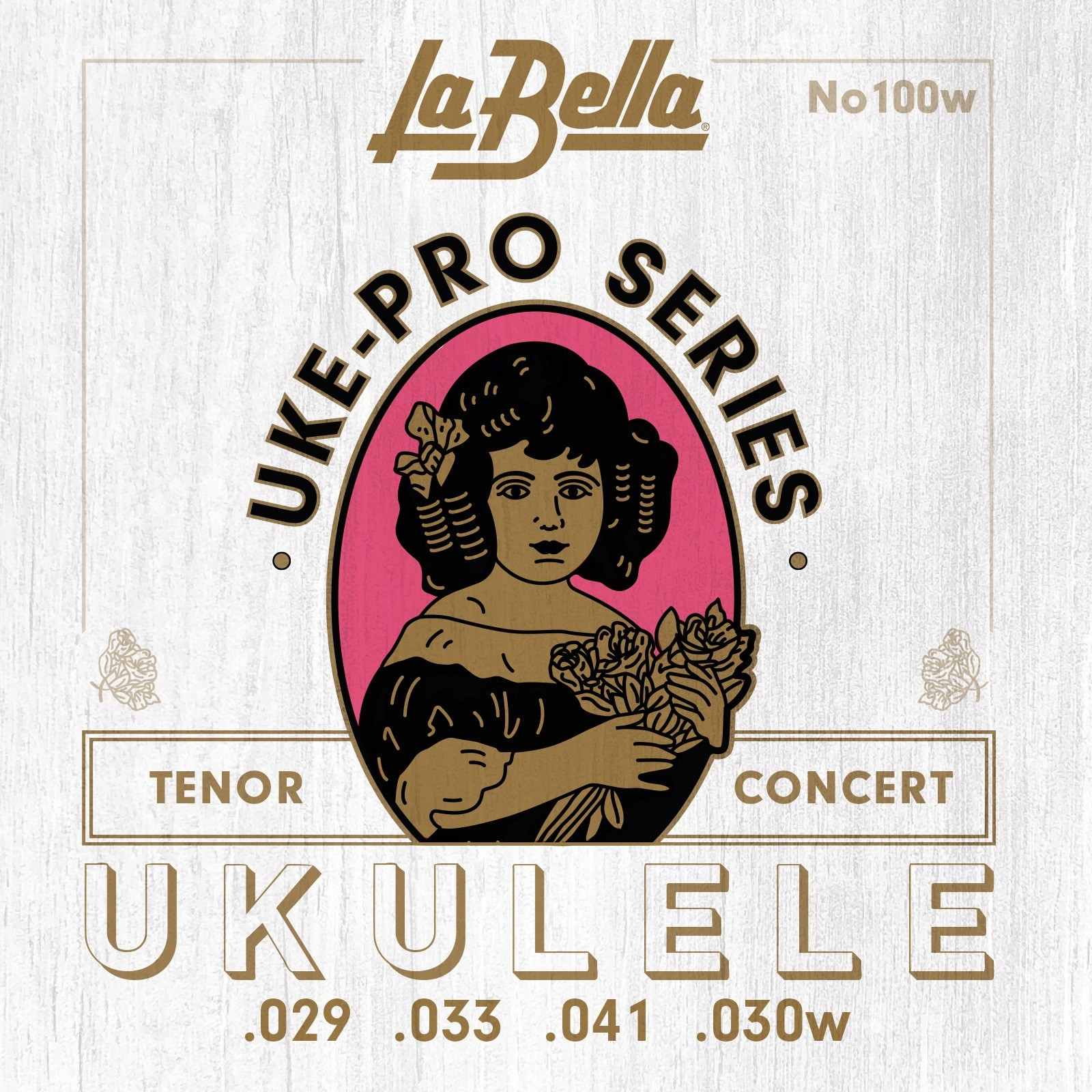 LaBella No.100w Struny do ukulele koncert / tenor