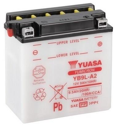 YUASA BATTERY SALES (UK) LTD Akumulator YUASA BATTERY SALES (UK) LTD YB9L-A2