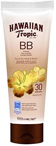 Hawaiian Tropic BB Cream Sun Lotion Face And Body Spf30 150 ml