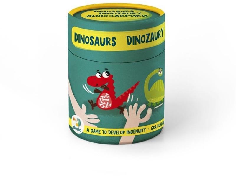 TM Toys DODO Gry na spostrzegawczość Dinozaury