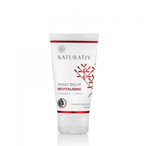 Naturativ Rewitalizujący balsam do rąk mini, Żurawina, cytryna, 50 ml, 158D-500E6