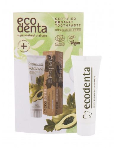 Ecodenta Organic Papaya Whitening pasta do zębów 10 ml unisex