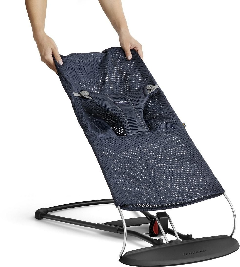 BABYBJORN Poszycie do leżaczka Balance Bliss Granatowy Mesh