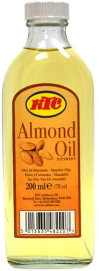 KTC Naturalny Czysty Olej Migdałowy Almond Oil 200ml