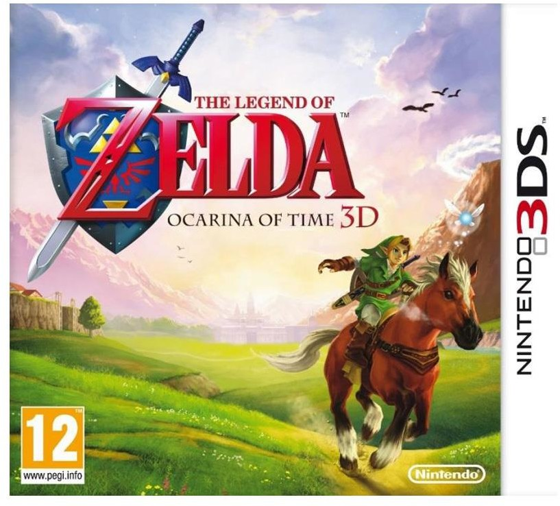 The Legend of Zelda Ocarina of Time 3D (Selects) 3DS