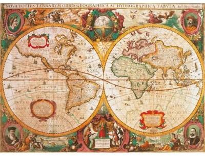 Clementoni 1000 EL Anty czna Mapa PCL-31229