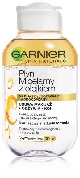 Garnier Skin Naturals Płyn micelarny z olejkiem 100ml 84971-uniw