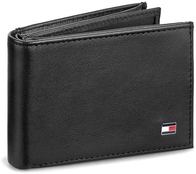 Tommy Hilfiger Mały Portfel Męski Eton Mini Cc Flap&Coin Pocket AM0AM00671 002