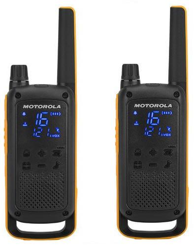 Motorola T82 TALKABOUT EXTREME IPX4 TWINPACK zestaw walizka [2szt.] krótkofalówki PMR 16 kanałów bez zezwoleń POLSKA DYSTRYBUCJA