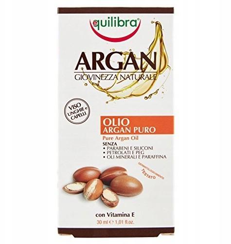 Equilibra Czysty olejek Arganowy Twarz, włosy 30ml