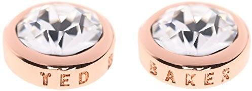Ted Baker Sina kolczyki damskie z różowego złota i kryształów TBJ1084-24-02