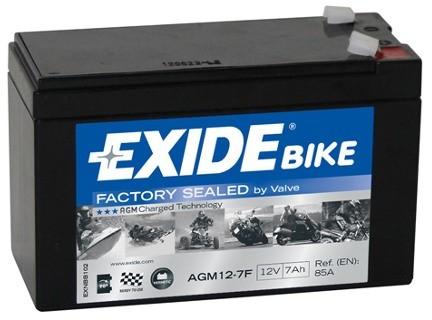 EXIDE AGM12-7F