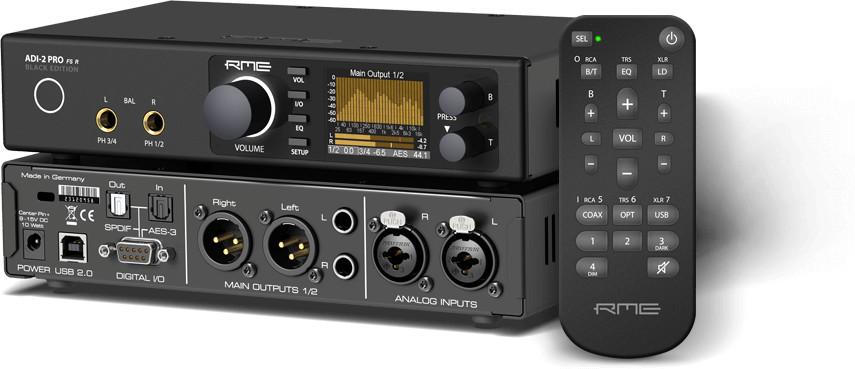 RME ADI-2 Pro FS R Black - Przetwornik AD/DA