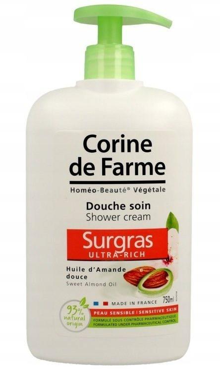 Corine de Farme Migdałowy Żel Pod Prysznic 750ML
