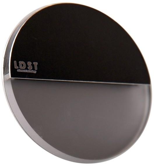 LDST LDST RO-01-SC-BZ4 - LED Oświetenie schodowe ROBIN 4xLED/1,2W/230V czarny matowy
