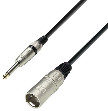 ah Cables K3 MMP 0100 przewód do mikrofonu XLR męski, jack mono 6,3 mm K3MMP0300