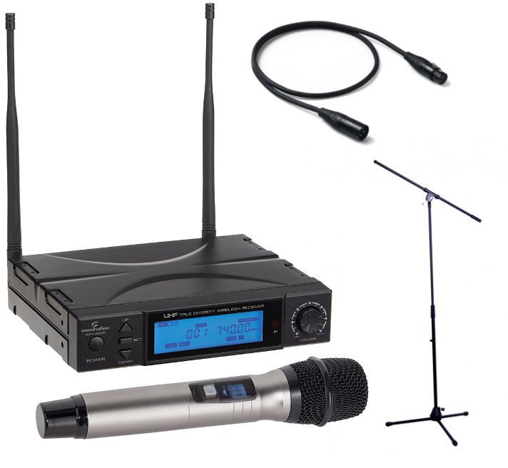 Soundsation WF-U1300H + statyw + kabel 1m 49426