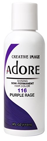 Adore Creative Image adore Shining Semi-Permanent Hair Color 116 Purple Rage 118 ML AD-116