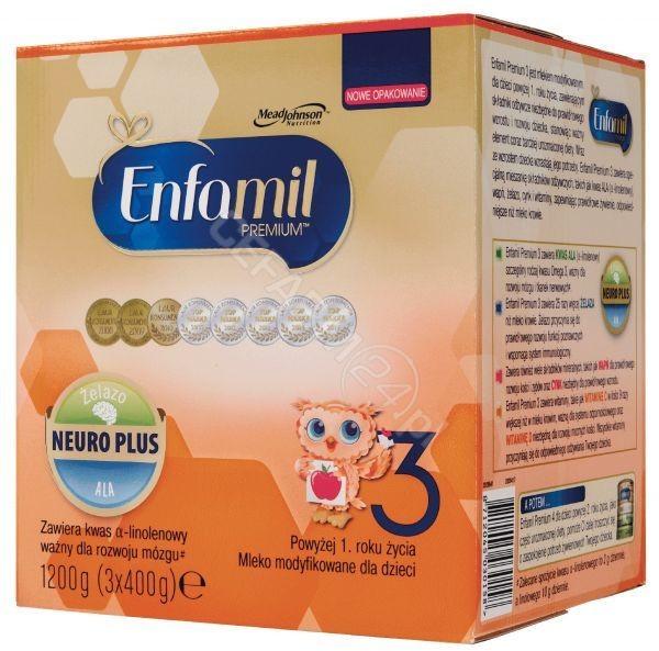 Enfamil Premium 3 neuro plus 1200 g