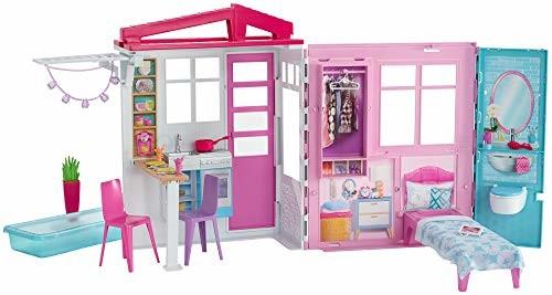 Mattel-barbie Barbie FXG54 House, Niebieski
