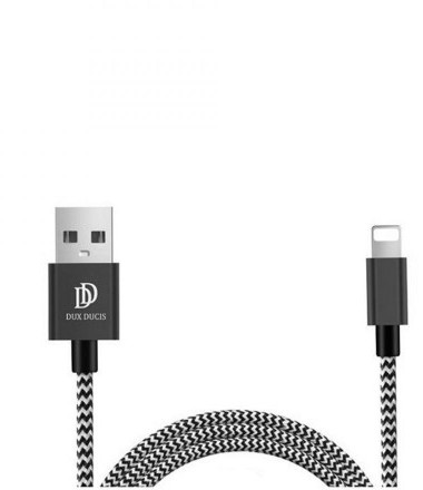 DuxDucis LIGHTNING CABLE 150CM BLACK