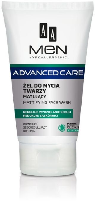 Oceanic AA Men Adventure Care żel do mycia twarzy matujący 150 ml