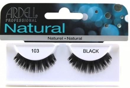 Ardell Sztuczne rzęsy - Natural Demi Black 103 Sztuczne rzęsy - Natural Demi Black 103