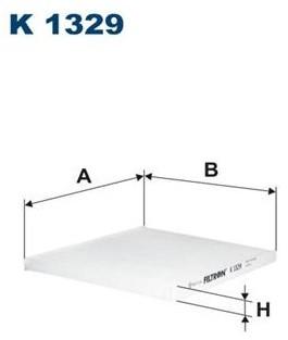 FILTRON Filtr kabinowy K1329