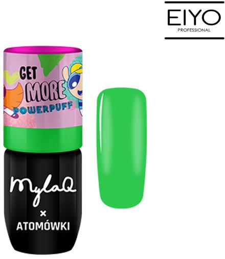 MyLaq Lakier Hybrydowy Green Power MylaQ x Atomówki - 5 ml M092