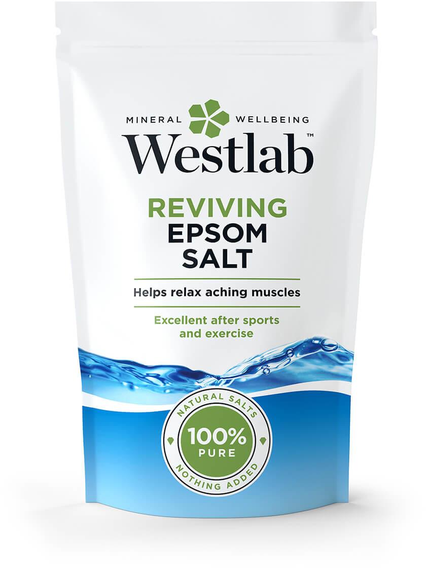 Westlab Odświeżająca, sól Epsom, 350 g   Darmowa dostawa od 199,99 zł !!! 7081838