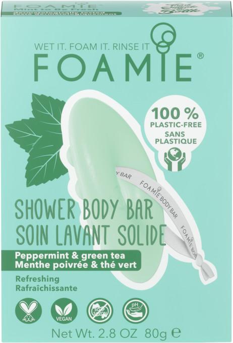 Fresh FOAMIE FOAMIE Mydła do ciała 2 w 1 Body Bar Mint to Be