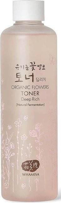 Organic Flowers Toner Deep Rich Tonik do twarzy 300ml