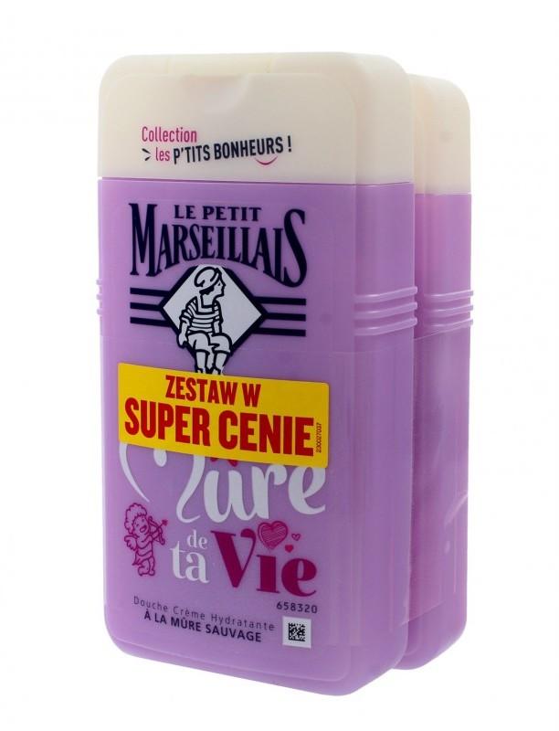 Le Petit Marseillais JOHNSON Żel pod prysznic Jeżyna 1+1 gratis 250mlx2