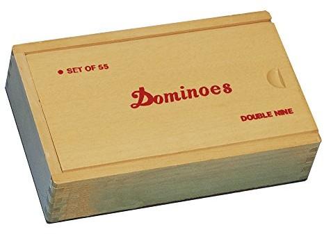 Piatnik Vienna Domino holzk.55kamieni