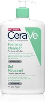 CeraVe CeraVe Cleansers pieniący się żel oczyszczający do skóry normalnej i mieszanej 1000 ml