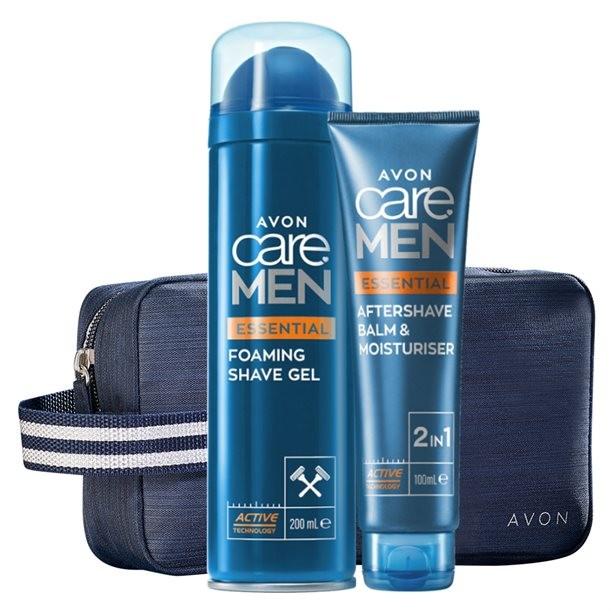 Avon Zestaw Care Men Do Golenia B&y
