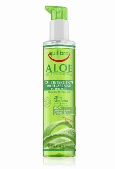 EQUILIBRA S.R.L Aloesowy oczyszczający żel micelarny do twarzy 200 ml 7073387