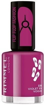 Rimmel Flipflop Fashion lakier do paznokci 336 Violet En Vogue 8ml 54948-uniw