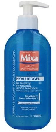 MIXA Ekspert Skóry Wrażliwej Hyalurogel żel micelarny zmniejszający uczucie ściągania 200ml