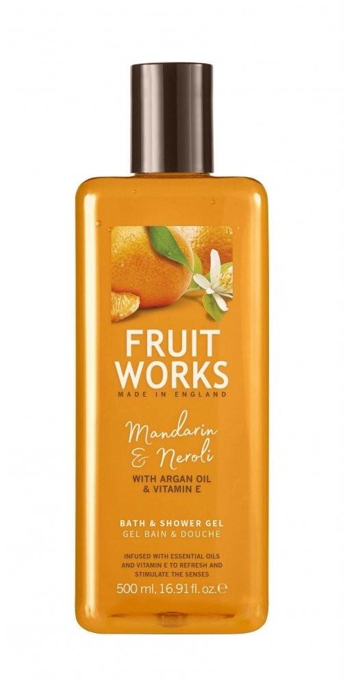 Grace Cole Fruit Works Bath & Shower Gel Mandarynka & Neroli 500ml 81190-uniw