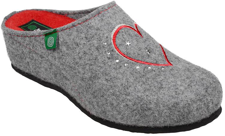 496182f5 Dr BRINKMANN Kapcie Pantofle domowe Ciapy Dr Brinkmann 330149-9 Popielate  27501