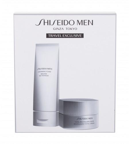 Shiseido MEN Total Revitalizer zestaw Krem do twarzy Men Total Revitalizer Cream 50 ml + Pianka do mycia twarzy Men Cleansing Foam 125 ml