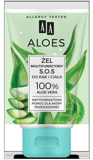 Oceanic ALOES Żel Mukltifukcyjny 100% S.O.S Aloe Vera 150ml